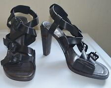 3.1 Phillip Lim Strappy Black High-Heel Sandal UK6.5/EU39.5, RRP £520