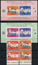 Space Raumfahrt 1968 Panama Satelliten 1105-1106 a/b + Block 99-100a MNH/977