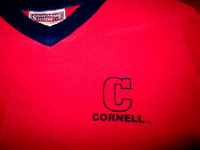 CORNELL COLLEGE vtg youth lrg fleece sweatshirt RAMS Iowa kids V-neck embroidery