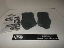 NEW Arai helmet replacement Cheek Pad Set for Chaser V & Vector -2  25 mm