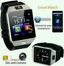 Smart watch Phone For Android IOS Bluetooth,Camera,Sim&Memory Slot