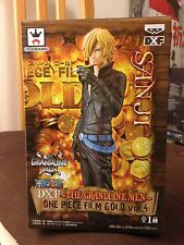 Figurine DXF Grandline Men SANJI Film Gold - One Piece - Banpresto Neuf/New