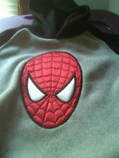 NWT THE AMAZING SPIDER-MAN SOFT FLEECE HOODIE BLACK & GRAY SIZE 24 MONTHS