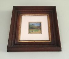 Don Shoffner Original Pastel Landscape Painting-Small Wood Frame-USA.      #325