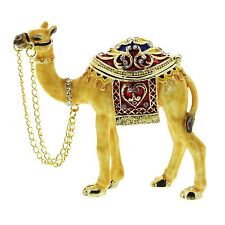 CAMEL (sml) TRINKET BOX, Figurine Gift Ornament, Collectable, Egyptian Keepsake