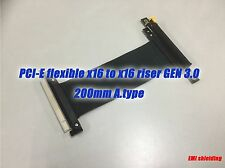 PCIE PCI-Express16x Extension Adapter Riser Cable,GEN.3,200mm A.type