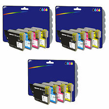 12 Inks - Compatible Printer Ink Cartridges for Brother MFC-J5910DW [LC1280]