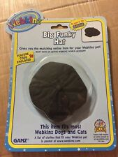 Webkinz Clothing Big Funky Hat With Online Code From Ganz Plush