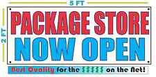 PACKAGE STORE NOW OPEN Banner Sign NEW Larger Size Best Quality for the $$$