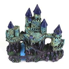 25cm Medieval Towers Castle Aquarium Decoration Fish Tank Cave Landscape