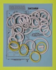 1983 Zaccaria Farfalla pinball rubber ring kit