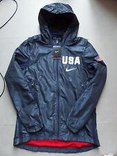 Nike USAB Hyper Elite Jacket Olympics USA Basketball Navy sz S [00033953X-US4]