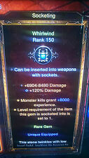 DIABLO 3 MODDED EXP GEMS x  13 POWER LEVEL WITH  super high damage XBOX ONE