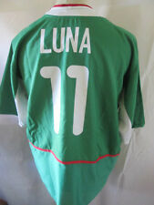 Mexico 2003-2004 Home Braulio Luna 11 Football Shirt Size XL /34434