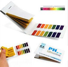PH Test 80 Strips Litmus Paper Tester Urine Saliva Acid Alkaline Aquarium Pool Z
