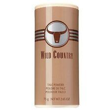 SUPER RARE Poudre TALC deodorant homme WILD COUNTRY de AVON