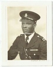 Wallace Heaton pencil signed photograph of WWII Black Serviceman