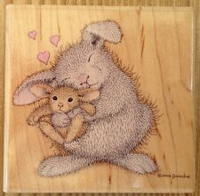Happy Hoppers Love Bunny Stampabilities Rubber Stamp HMI1014 House Mouse