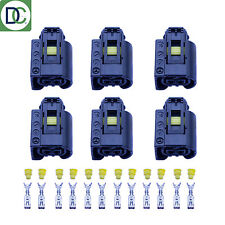 6 x Genuine Diesel Injector Connector Plug for Mercedes Bosch Common Rail