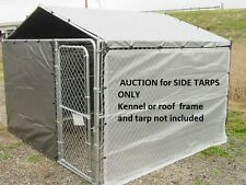 Dog kennel cover, winter bundle for 5 x10 kennel