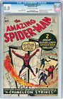 The Amazing Spider-Man #1 (1963, Marvel) Rare CGC VF