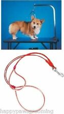 NO SIT LIE DOWN Dog Grooming HEAVY DUTY Cable Loop Holder RESTRAINT System*SM-XL
