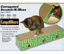 SCRATCH-N-MAZE CAT SCRATCHER & PLAY BALL SCRATCHING FUN FOR CATS SCRATCH POST