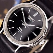 Authentic King Seiko Hi-beat Date Ref.5621-7022 Black Dial Automatic Mens Watch