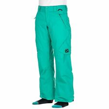 DC Nala Womens Ski Snowboard Pants Salopette Ladies Trouser Medium Green NEW 10K