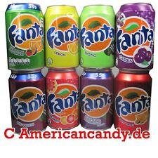 Exotische Fantasorten:  24x 330ml Fanta Mix  (7 Sorten zur Auswahl) (4,29€/l)
