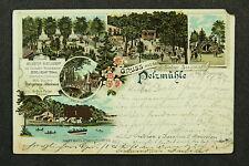 Chemnitz Station Siegmar Pelzmühle und Zoo von 1897 / AK 100