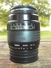 Sigma Sony Alpha AF-B  Zoom lens 60-200 F:4 Cased,METAL COMPACT TESTED Minolta