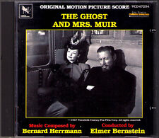THE GHOST AND MRS. MUIR Bernard Hermann Elmer Berstein Varese Sarabande Varèse