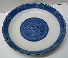 Vintage Blue and White Porcelain Japanese Toyo Serving Bowl Signed Bottom