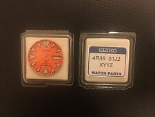 4R3601J2XY1Z Genuine Orange Dial Japan Seiko Monster 200m Divers Automatic 4R36