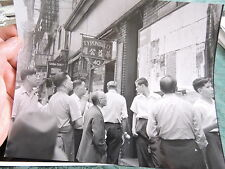 1935 Chinatown Chinese Men NYC New York City Photo 8x10