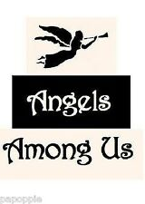 Stencil Primitive Blocks Angels Among Us Free Shipping!