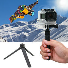 Portable Mini Tripod Stand Mount Base Holder For Digital Action Camera Phone