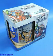 Stor Marvel Avengers Assemble   / Tasse / Porzellantasse im Geschenk Set