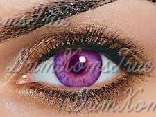Lentille de couleur Violet / Amethyst //3 Tons// Utilisable 3 Mois// Vendeur Pro