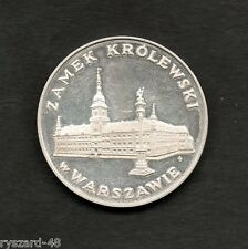 "Poland 1975 - Collector coin - 100 zł. - Silver -  "" Royal Castle in Warsaw """