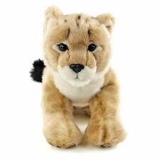 Realistic stuffed Lion child realistic Animal Family Series from Japan New
