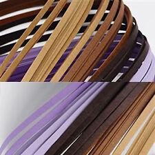 120 strisce quilling medie 5 mm tonalità viola 2