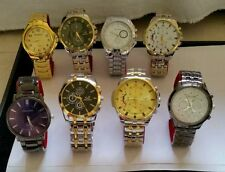 X25 Joblot QUARTS ORLANDO MENS BEZEL STRAP WATCHES BRAND NEW Great To Re-sell!!