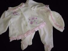 Girl Baby Warm Dylan & Abby Dressy Ivory Flower Baby Girl Pant Outfit 3-6 Months