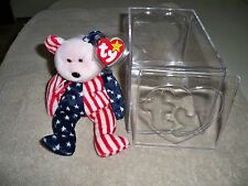 Ty Beanie Baby Spangled (BF; WF and PF) All 3 with Tags and Case