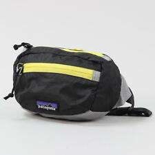 Patagonia Lightweight Travel Mini Hip Pack Forge Grey Chromatic Yellow