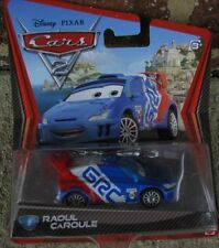 Disney Cars 2 Raoul Caroule Pixar Licensed Movie Diecast 2010 #18 Mattel