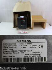 Siemens 6SE3115-2BB40 Convertitore di frequenza 230v Inverter