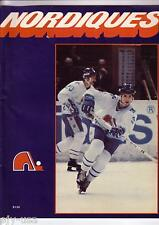 New England Whalers WHA Quebec Nordiques 1979 Hockey Program [P04]